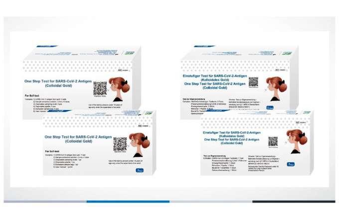 SARS-CoV-2-Antigen Laientest